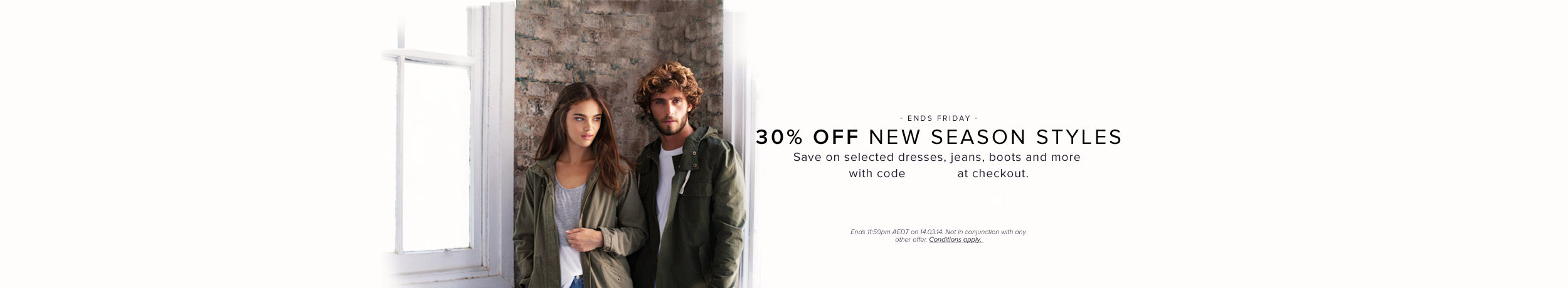 30% off New Season