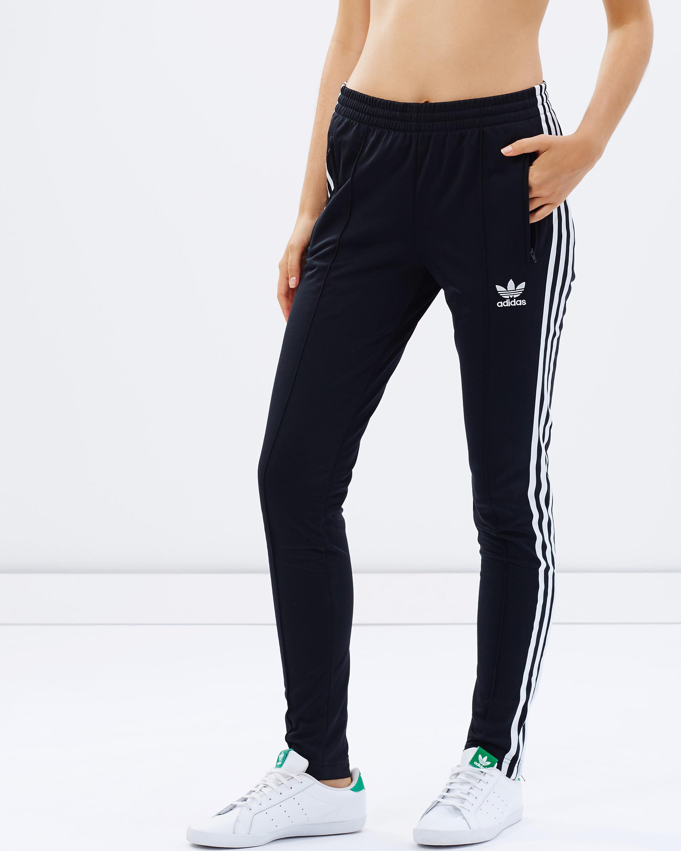 Unique Adidas Women CL Knit Track Pants  EBay