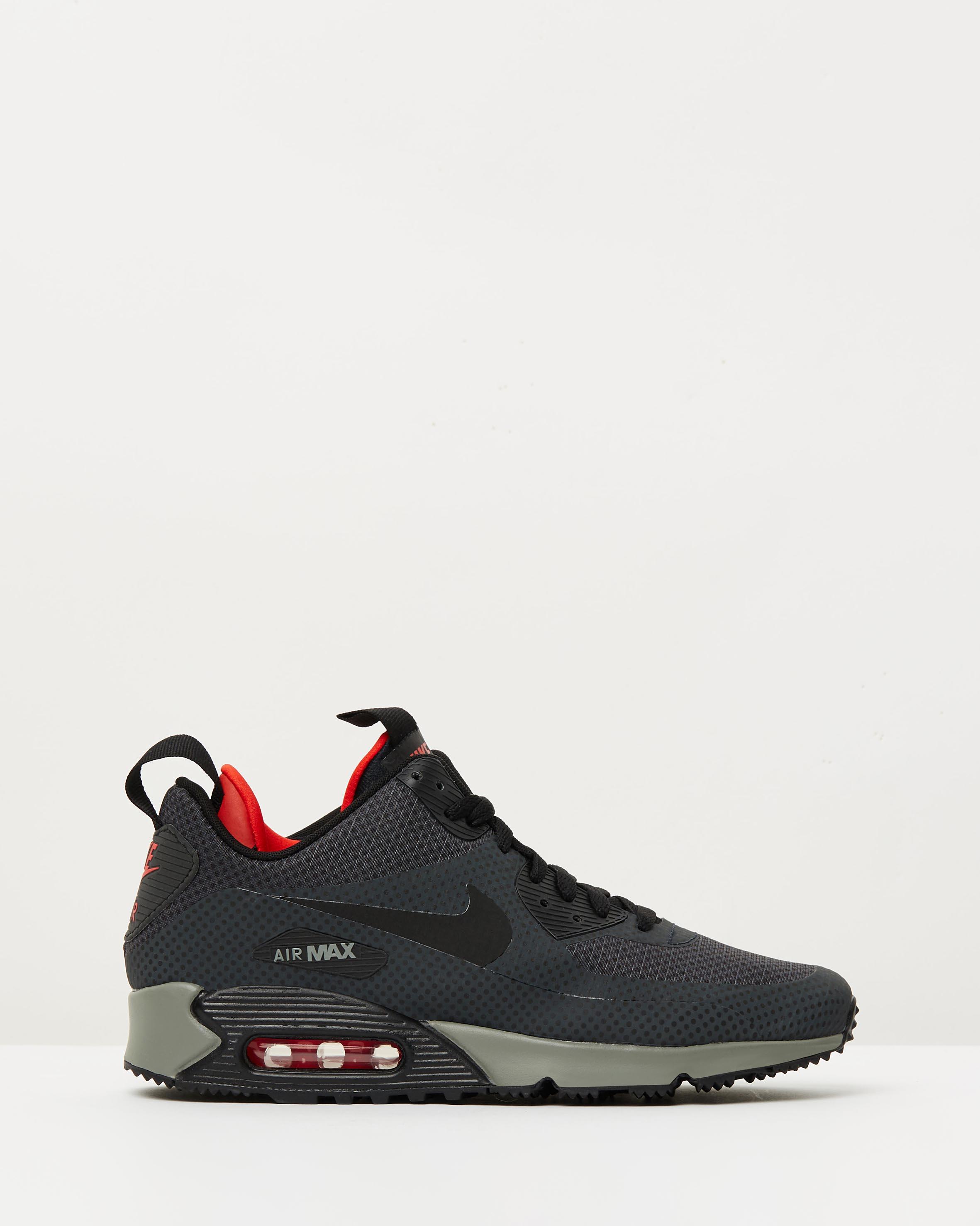 Men S Nike Air Max  Mid Winter Print Running Shoes
