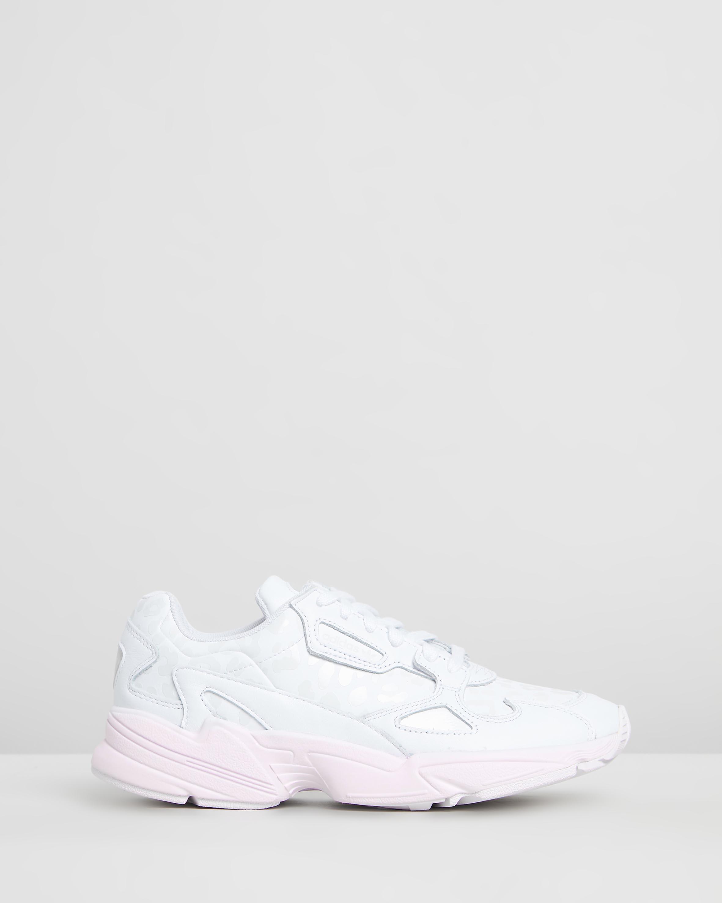 adidas Falcon W Core Black Crystal White Grey Two | Footshop