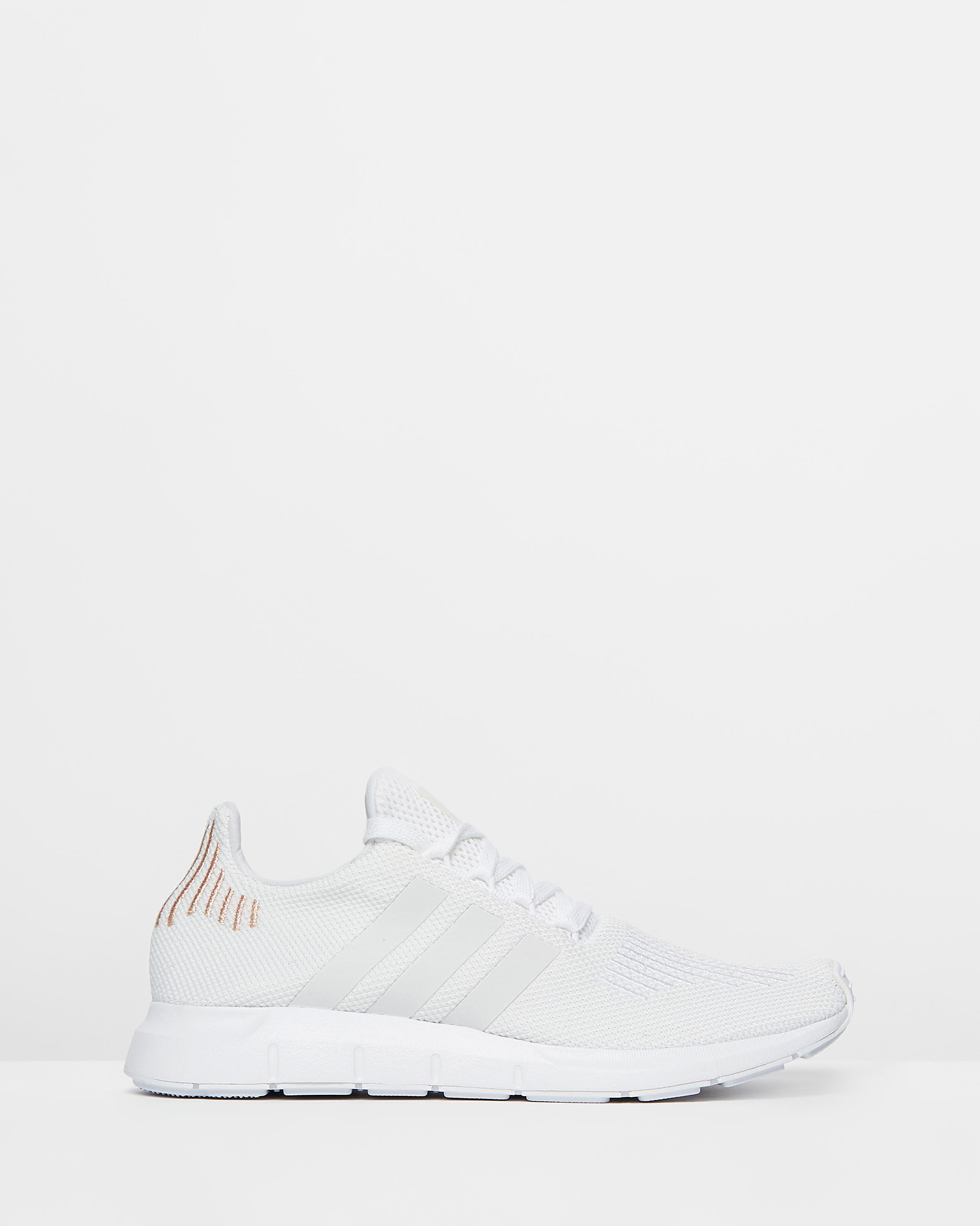 adidas Swift White & Rose Gold Shoes in 2020 | White tennis