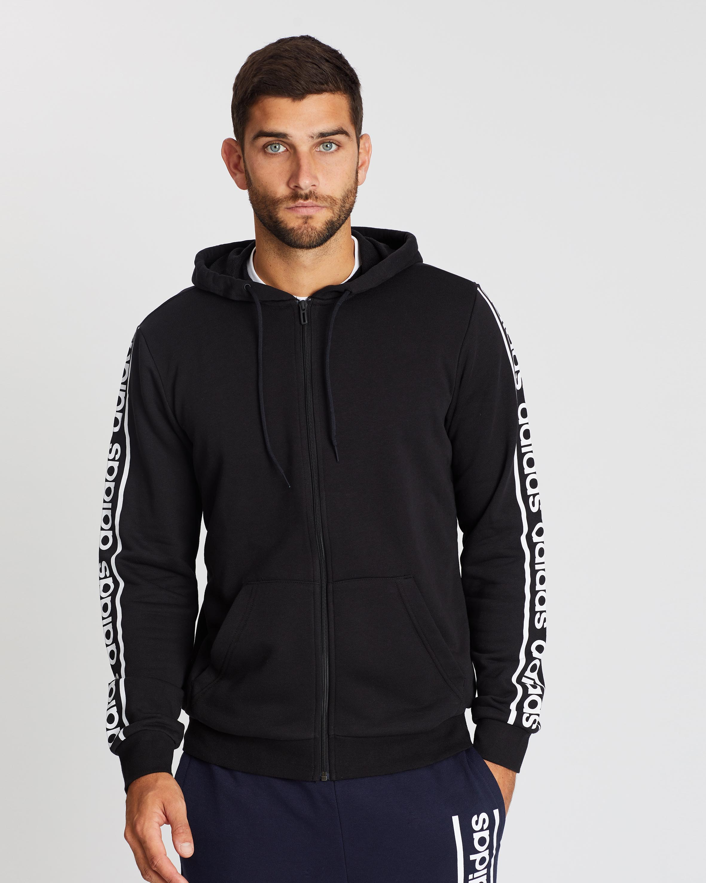 Perfect adidas Men's Long Sleeve Lifestyle Hoodie Cool.