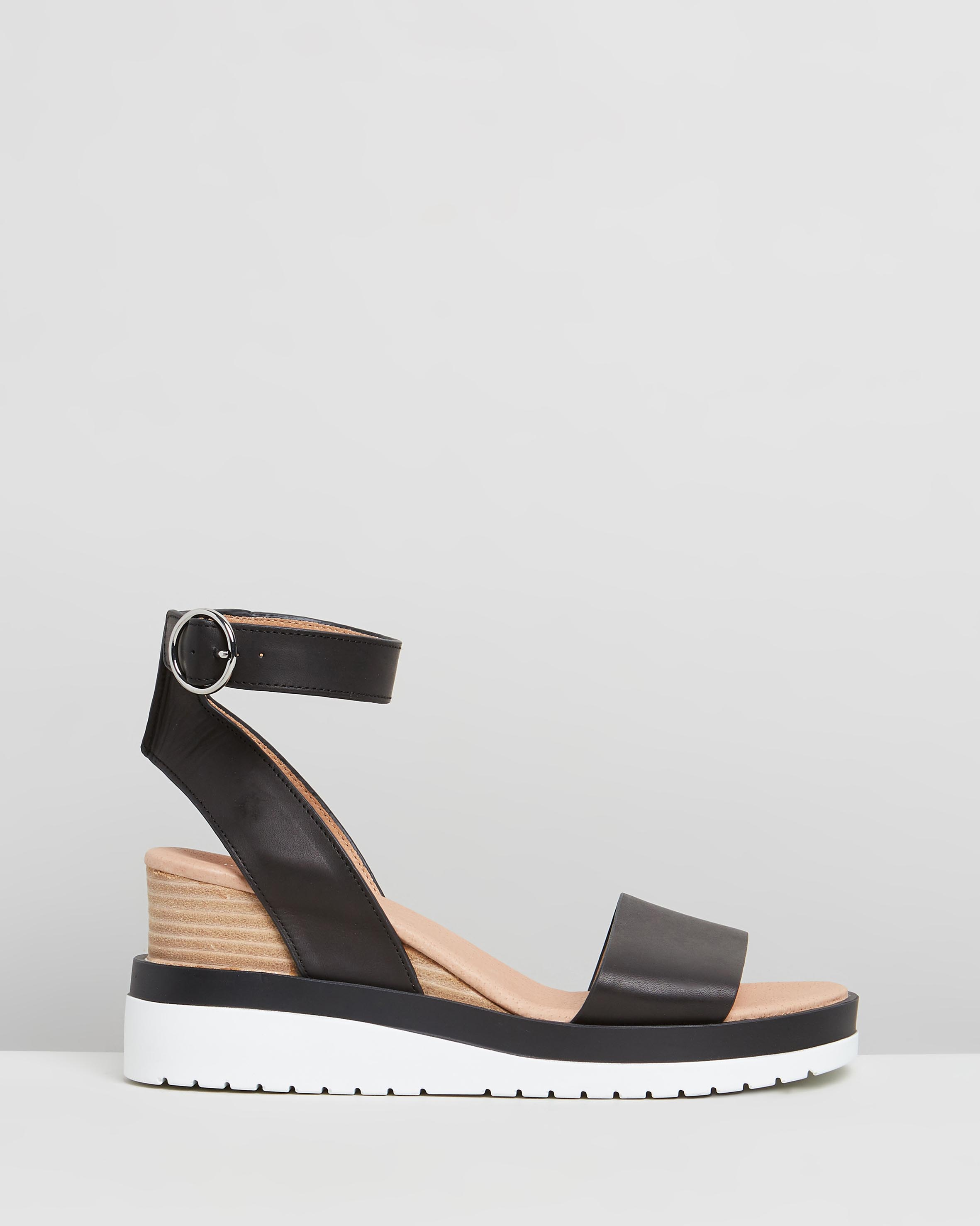 Kaia Mid Heel Wedges by Jo Mercer Online | THE ICONIC