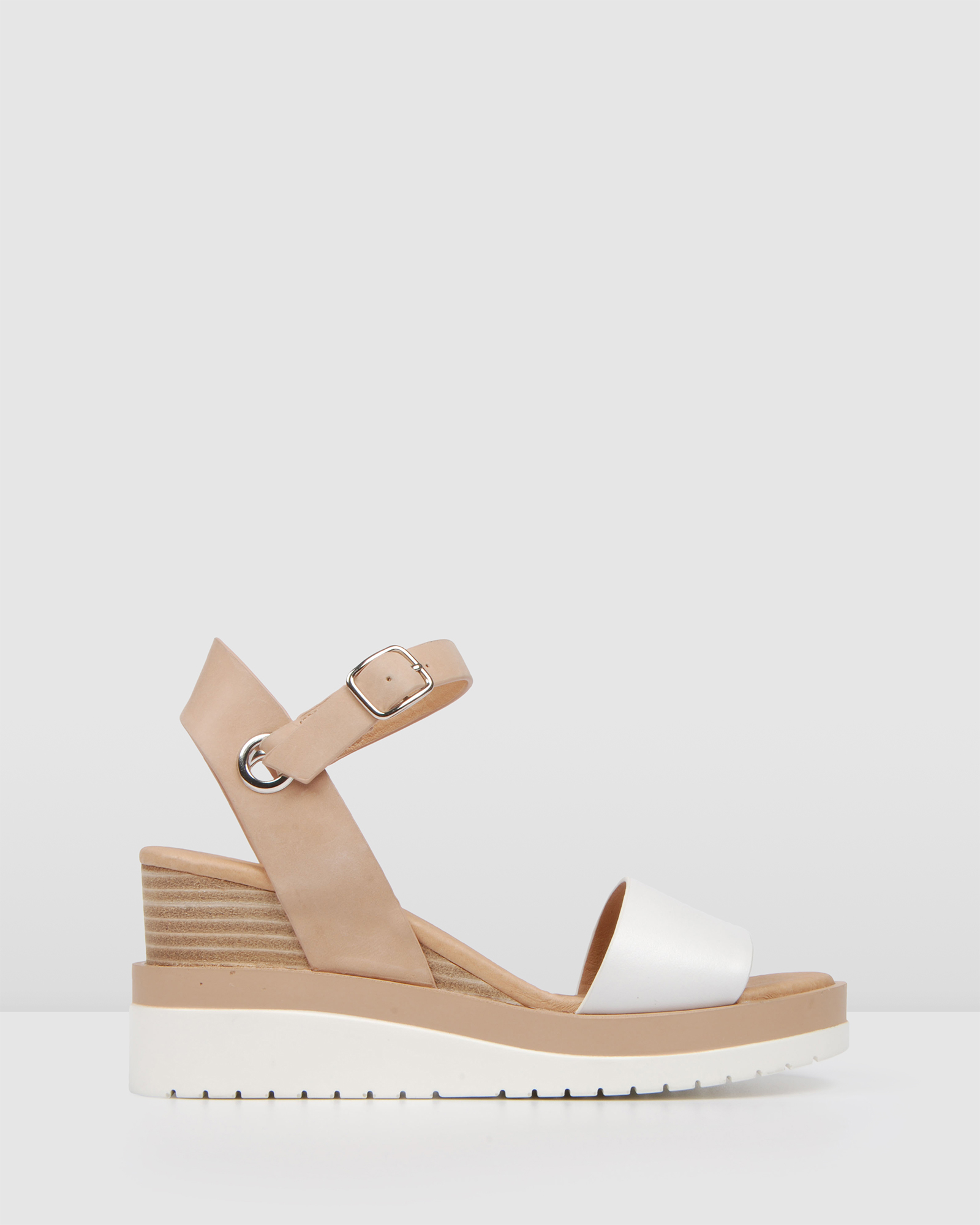 Kenzie Wedge Sandals by Jo Mercer Online | THE ICONIC