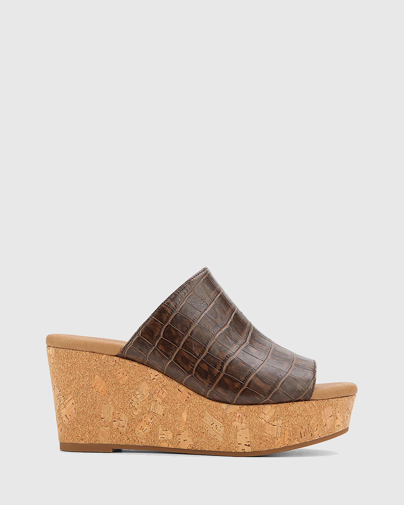 Hadleigh Leather Wedge Heels by Wittner Online | THE ICONIC